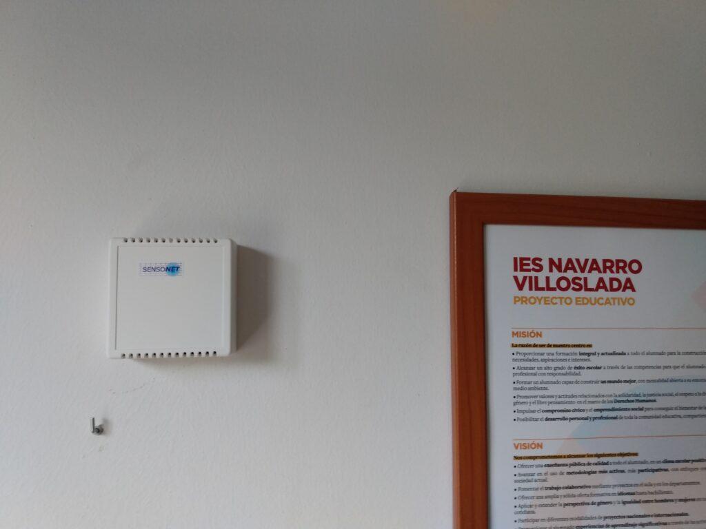 sensor-monitorización-CO2-Covid-19